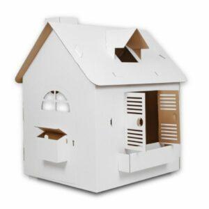Domeček z kartonu pro děti