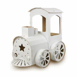 Kartonová mašinka pro děti k vymalování
