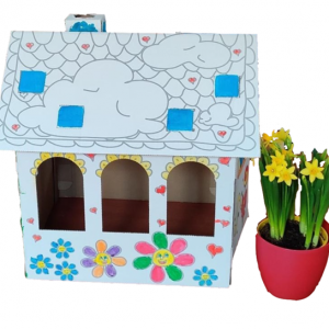 Domek pro panenky k domalování | INDOOR FUN