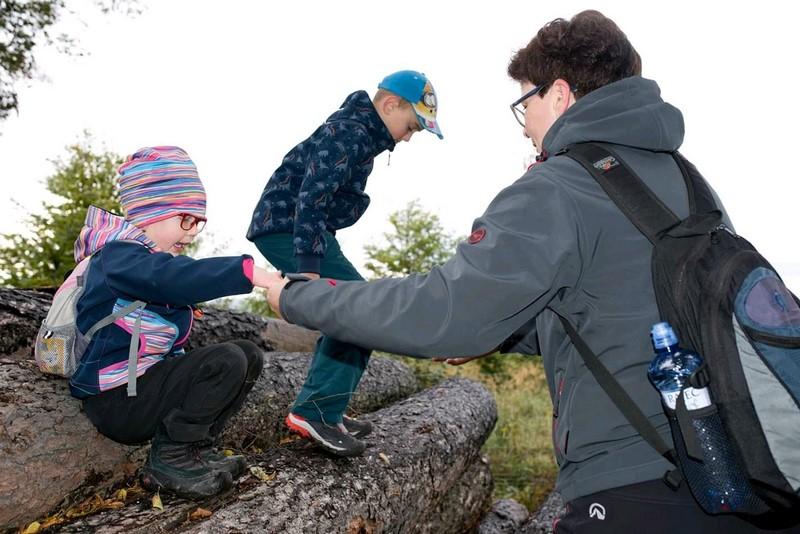 Výlety s dětmi v přírodě