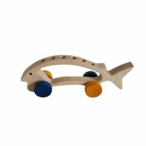 Dřevěná ryba – držák na tužky