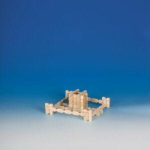 Dřevěná stavebnice pro děti - Creativity set