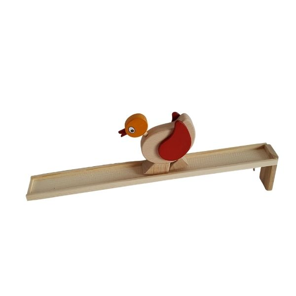 Dřevěné chodící kuře