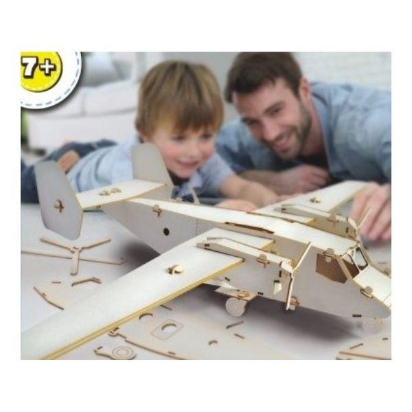 Dřevěné letadlo pro děti