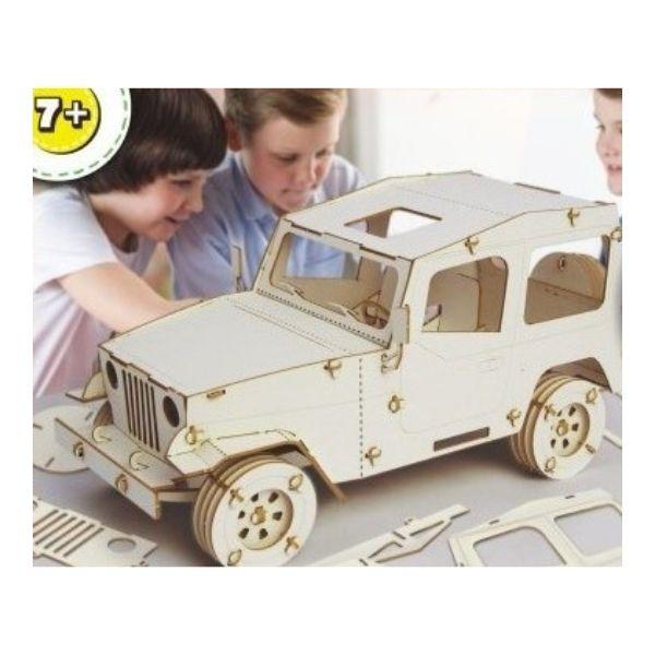 Dřevěné autíčko pro děti