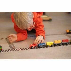 Kreativní páska - železnice