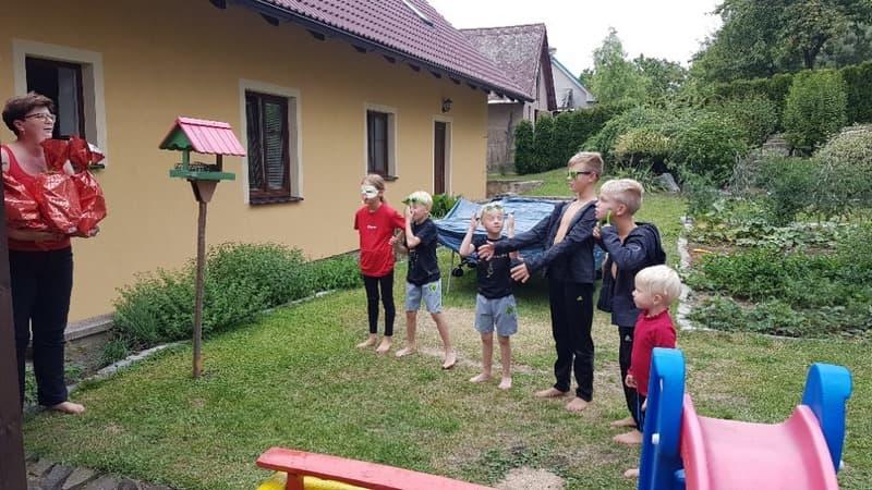 Vyhodnocování olympiády na táboře
