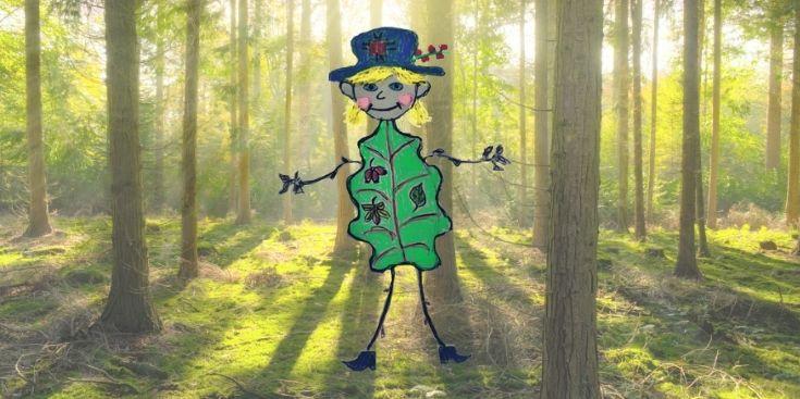 Skřítek Dobrota v lese