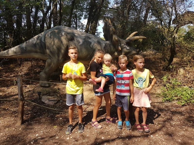 Dino park s dětmi | Akce Indoorfun.cz