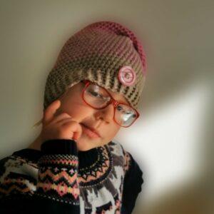 Háčkovaná čepice zimní | INDOOR FUN
