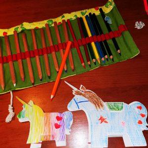 Výtvarka pro děti - jednorožec z kartonu