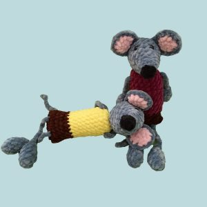 Háčkovaná myška | INDOO FUN