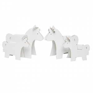 Kůň z kartonu - výtvarka pro děti